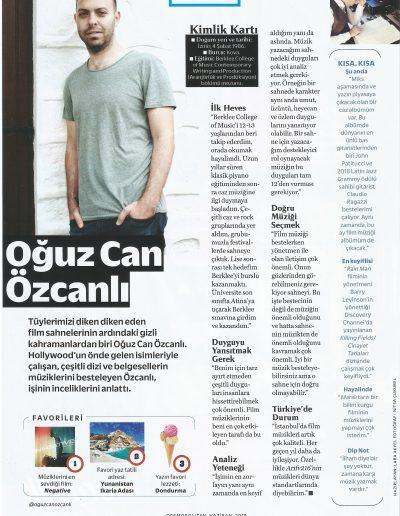 Cosmopolitan Interview